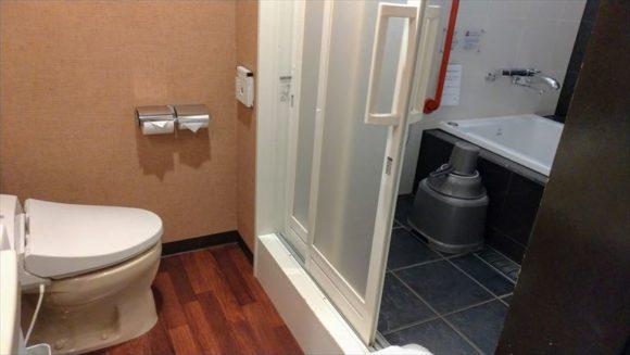 ふく井ホテルの特別室(ツイン)