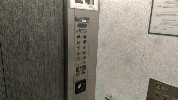 JR東日本ホテルメッツ札幌のエレベーター