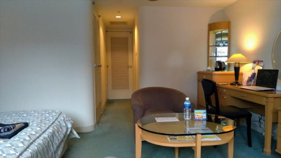 ジャスマックプラザホテルの客室(シングルルーム)