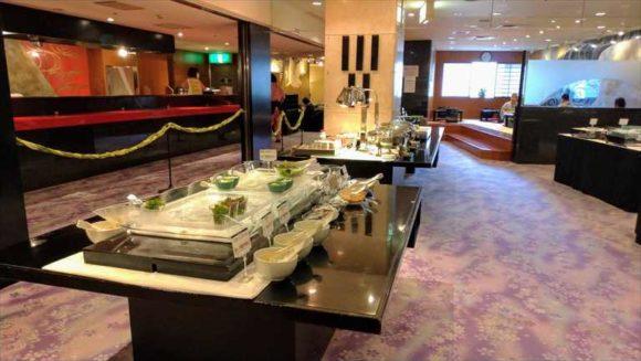 ジャスマックプラザホテルの朝食ブッフェ