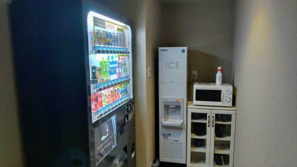 レンブランドスタイル札幌の製氷機&電子レンジ