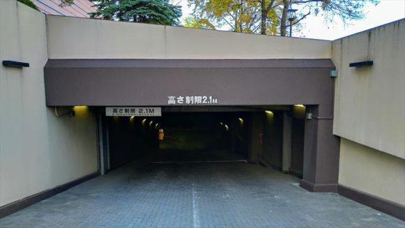 プレミアホテル-TSUBAKI-札幌の駐車場