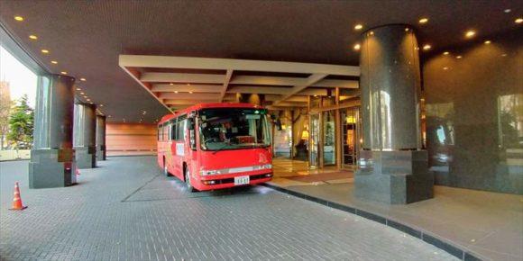 プレミアホテル-TSUBAKI-札幌の無料シャトルバス