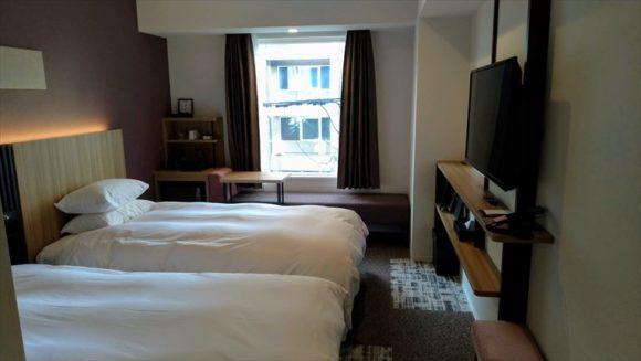 Tマークシティホテル札幌大通の客室(ツインルーム)