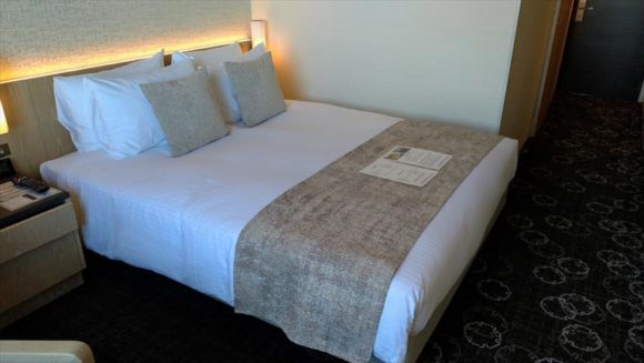 ホテルJALシティ札幌中島公園の客室(モデレートクイーン)