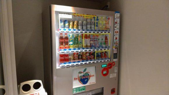 JALシティ札幌中島公園の自動販売機