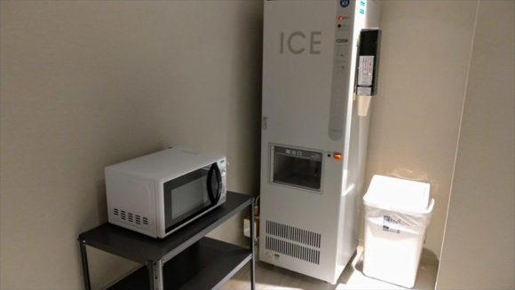 JALシティ札幌中島公園の製氷機・電子レンジ