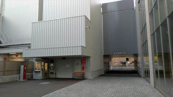 ホテルJALシティ札幌中島公園の駐車場