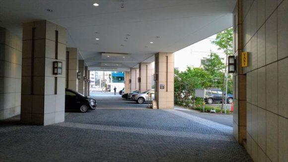 ホテルマイステイズプレミア札幌パークの駐車場