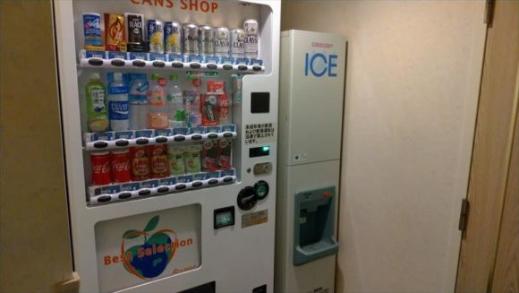 マイステイズプレミア札幌パークの自動販売機&製氷機