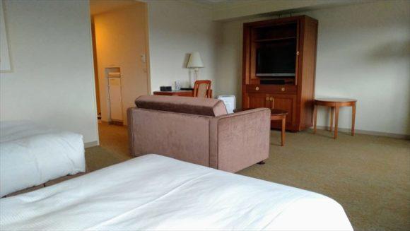 ホテルマイステイズプレミア札幌パークのデラックスツインハイフロア
