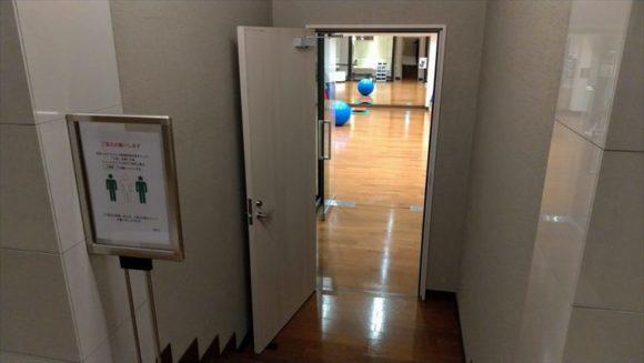 しこつ湖鶴雅リゾートスパ水の謌のジム(1階)