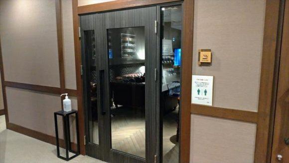 しこつ湖鶴雅リゾートスパ水の謌の喫煙所(3階)