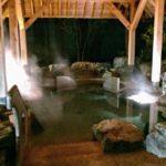 支笏湖鶴雅(しこつ湖鶴雅リゾートスパ水の謌)の天然温泉大浴場