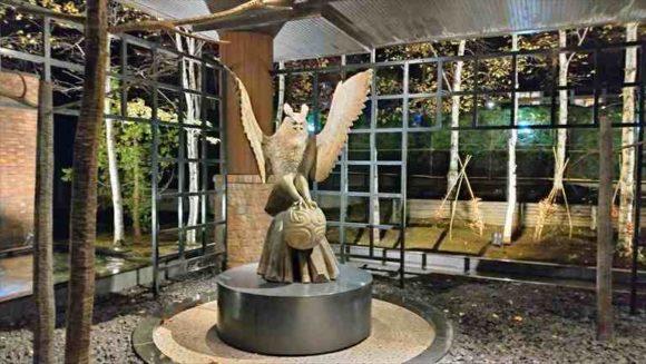 彫刻家、滝口政満氏の作品