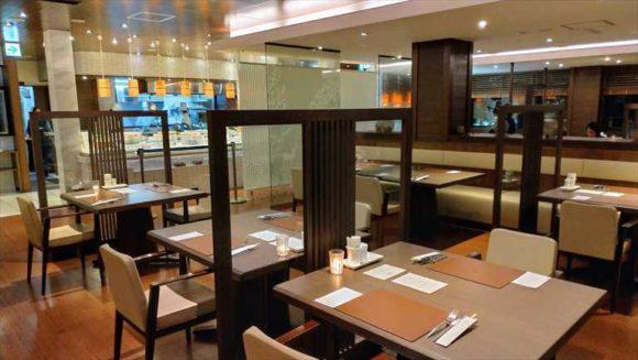 しこつ湖鶴雅リゾートスパ水の謌の夕食ブッフェ(アマム)
