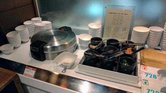 しこつ湖鶴雅リゾートスパ水の謌の夕食ディナーブッフェ(アマム)