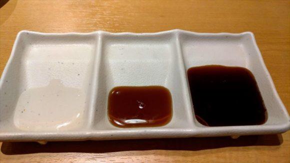 焼肉きんぐのタレ3種