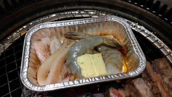 焼肉きんぐの海鮮