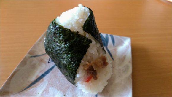 「ありんこ」おにぎりおすすめ⑯牛丼(300円)