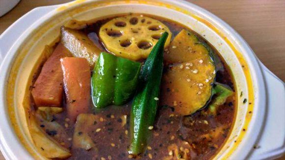 フードパンダで注文した「アジアンスープカレーべす」