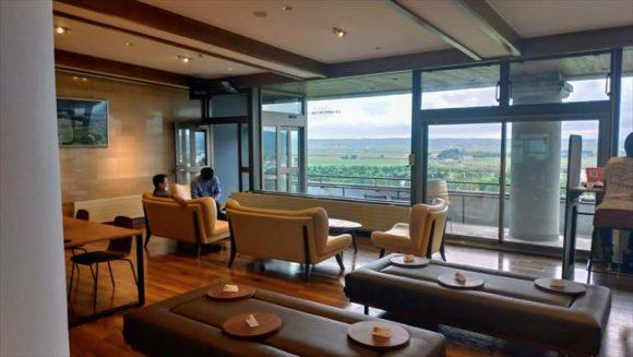 ワイン城(池田町)レストラン(4階)