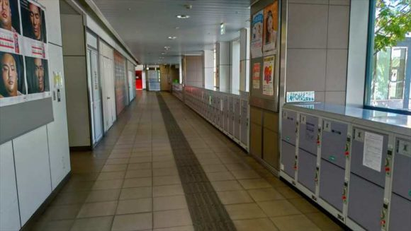 JR帯広駅のコインロッカー