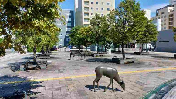 JR帯広駅北口前広場