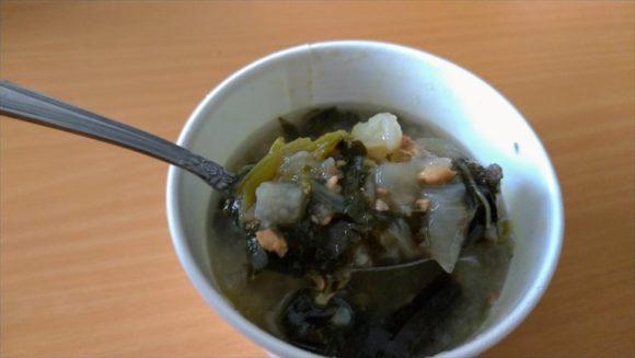スープストック(Soup Stock Tokyo)札幌おすすめ「生姜とオクラのミネストローネ」