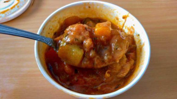 7種の野菜のラタトゥイユカレー