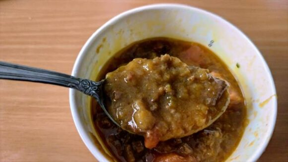 スープストック(Soup Stock Tokyo)おすすめ②茄子と牛挽肉の辛くないキーマカレー
