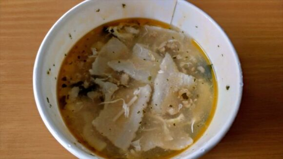 スープストック(Soup Stock Tokyo)おすすめ「雪梅蛋花湯(梅と筍の中華スープ)」
