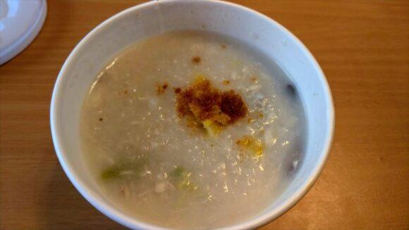 スープストック(Soup Stock Tokyo)おすすめ「真鯛とボッタルガのOKAYU」