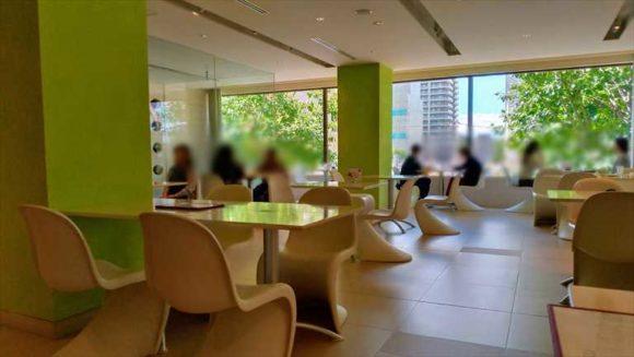 六花亭帯広本店の喫茶室メニュー&限定スイーツ(2階)