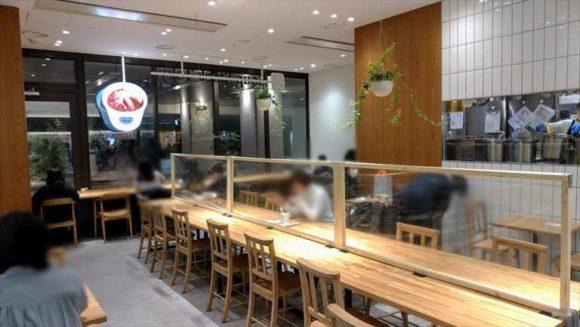 スープストック大同生命札幌ビルmiredoの店内