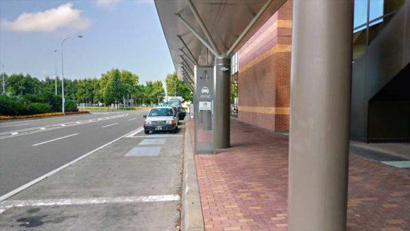 とかち帯広空港のタクシー乗り場