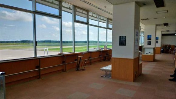 とかち帯広空港おすすめ展望ホール(3階)