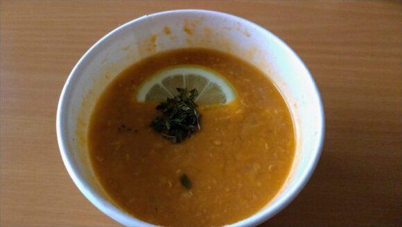 スープストック(Soup Stock Tokyo)おすすめ「赤レンズ豆と白身魚のトルコ風スープ」