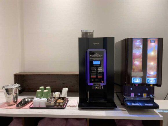 ホテルネッツ札幌のウエルカムドリンクサービス