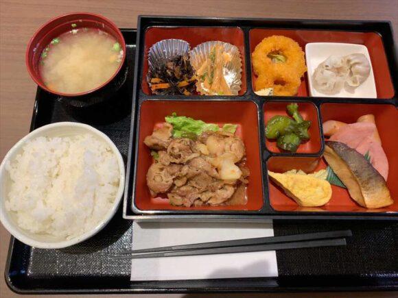 ホテルネッツ札幌の朝食
