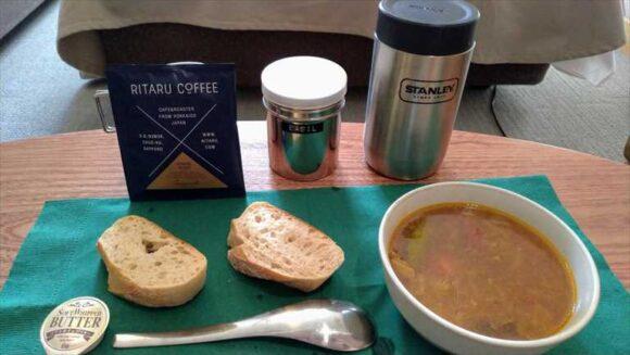アンワインドホテル札幌の朝食