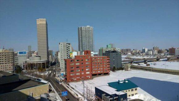 札幌パークホテルの眺望