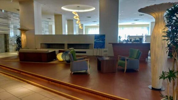 札幌パークホテル1階