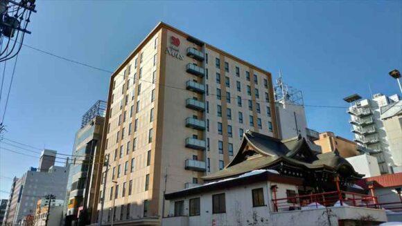ホテルネッツ札幌の外観