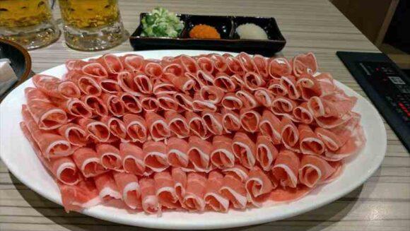 北海しゃぶしゃぶおすすめのラムしゃぶ食べ方