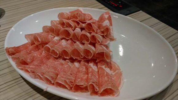 北海しゃぶしゃぶの1人前ラム肉(150g)