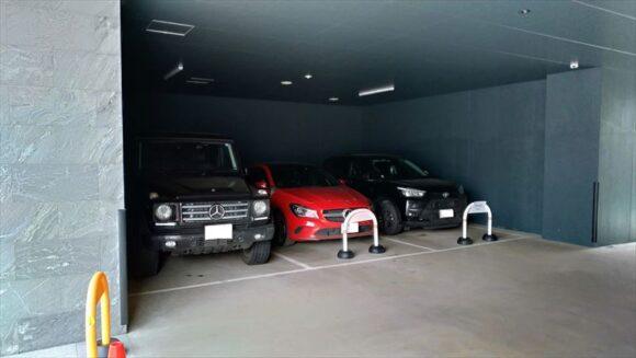 ホテルウィングインターナショナル札幌すすきのの駐車場