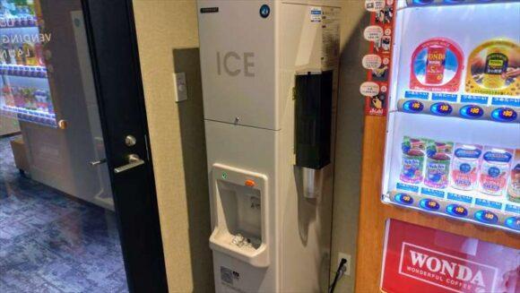 ホテルウィングインターナショナル札幌すすきのの製氷機