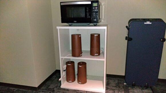 ホテルウィングインターナショナル札幌すすきのの電子レンジ