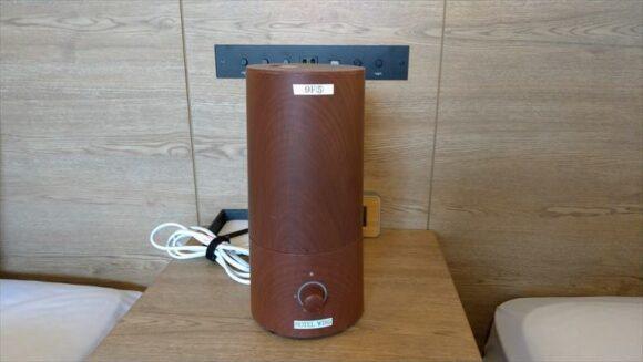 ホテルウィングインターナショナル札幌すすきのの加湿器